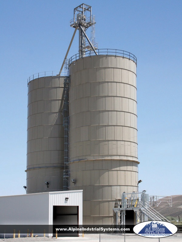 Lime/Cement/Fly Ash Bulk Storage and Transload Terminal