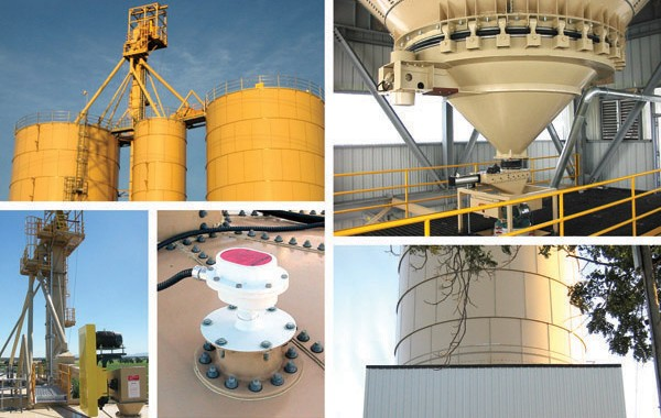 Lime/Cement/Fly Ash Bulk Storage and Transload Terminal Detail