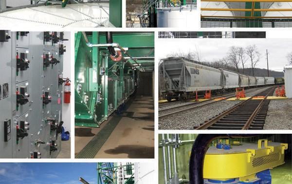 Frac Sand Transload Terminal Details