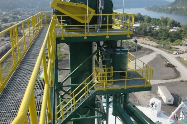18,000 Ton Frac Sand Transload Terminal