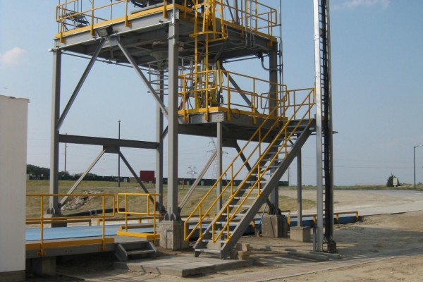 Fly Ash Truck Load-Out System 1